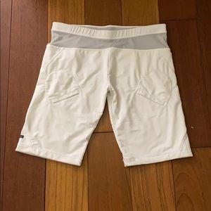White tennis/exercise shorts Stella McCartney
